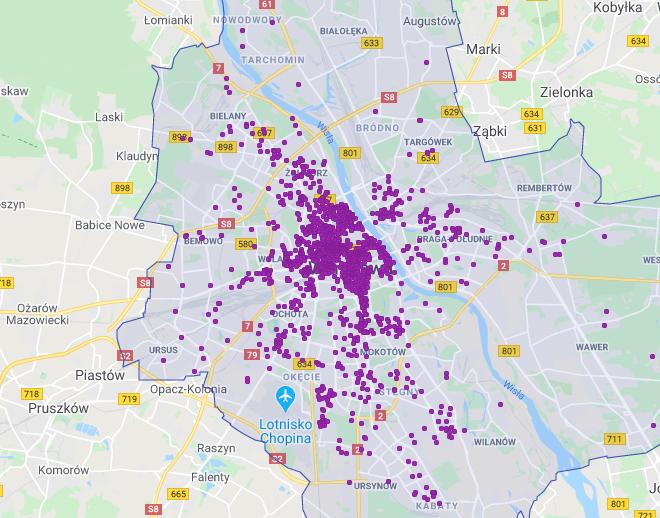 Koronawirus w branży nieruchomości. Lokalizacje mieszkań w ramach AirBnB